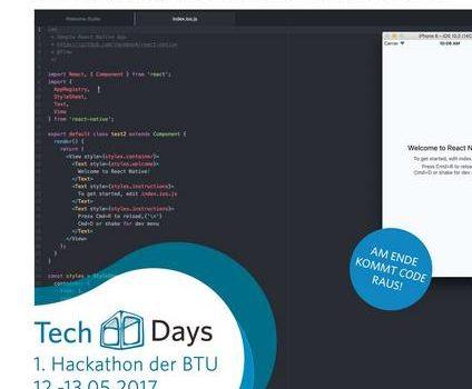 BTU TechDays – Der 1. Hackathon an der BTU